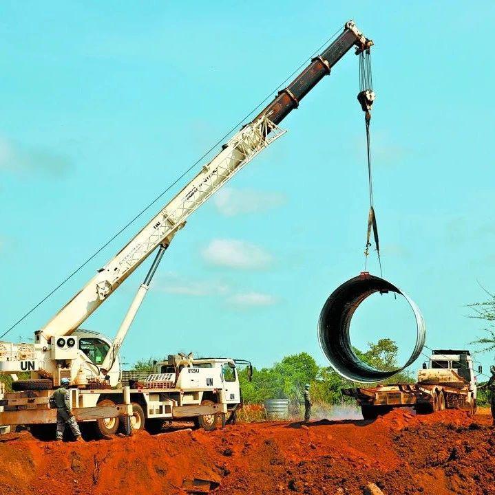 我第11批赴南苏丹(瓦乌)维和工兵分队顺利完成索普桥重建工程