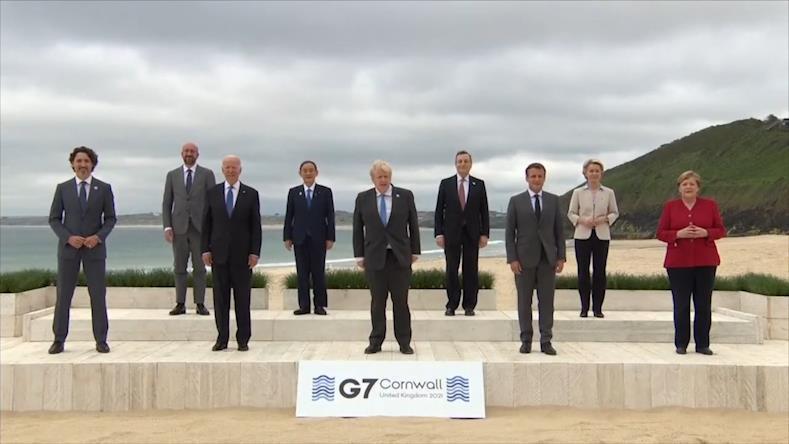 现场直击康沃尔G7峰会首日:疫情后经济复苏与国际间经济政策协调成焦点话题