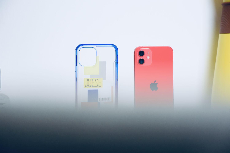 iPhone12穿件骚气的外衣,透明全方位抗黄防摔