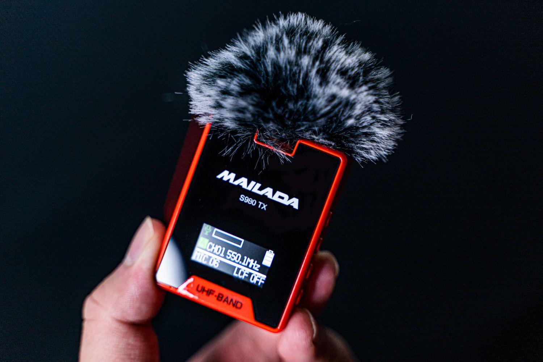 专业无线影视麦克风,麦拉达S980幸运红开箱