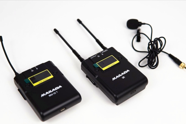 """麦拉达WM-12无线麦克风:让Vlog更加""""声""""动"""