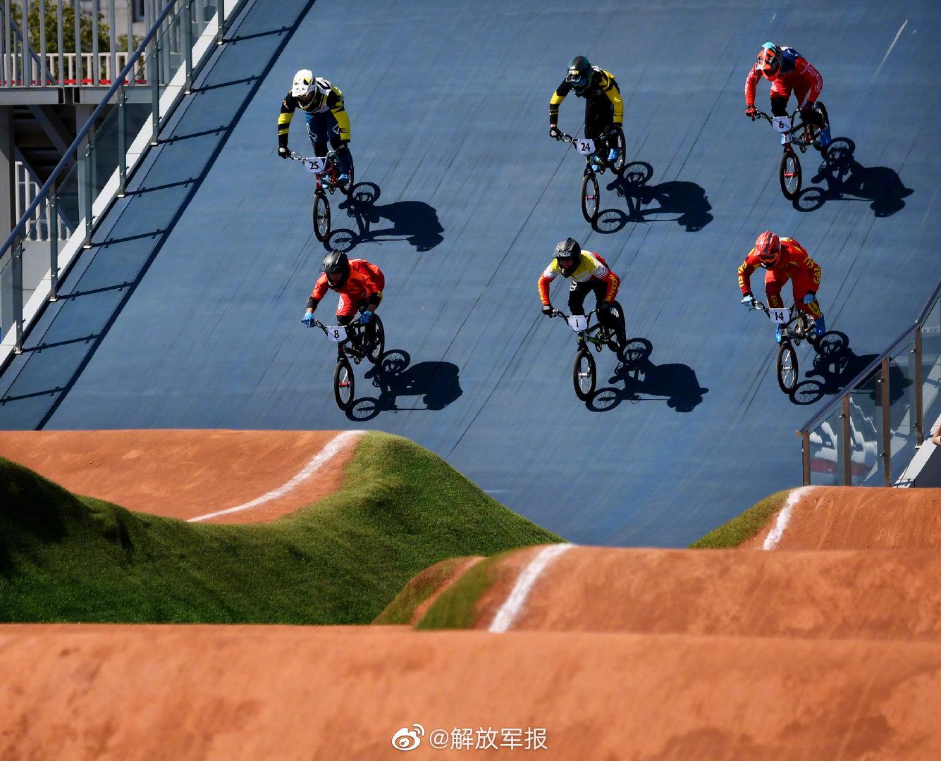 全运会小轮车竞速赛决出男女组冠军