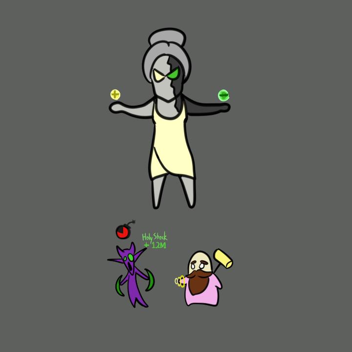 魔兽萨格拉斯之墓_玩家原创:灵魂画手 萨格拉斯之墓各BOSS简笔画-魔兽世界
