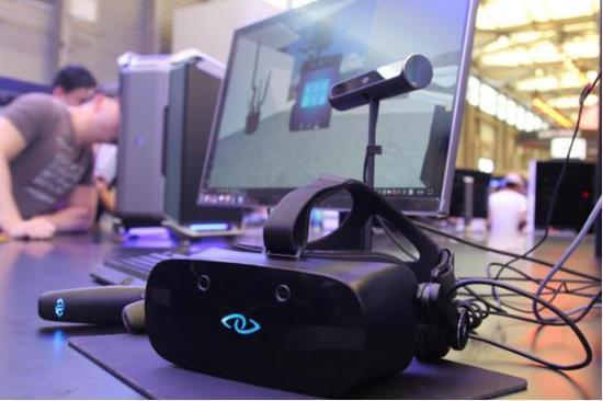 第一個全套交互MR設備3Glasses微軟版開售