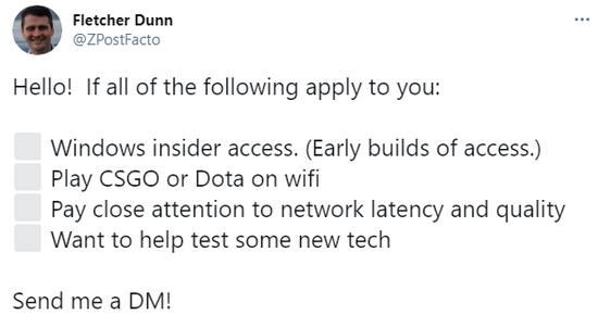 "Valve正在寻求志愿者测试最新""黑科技"""