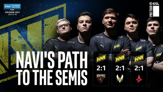NaVi:尊重每个对手,线下赛自信很重要