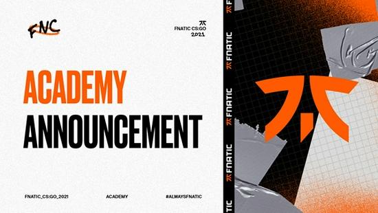 Fnatic宣布其学院队fnatic Rising建立