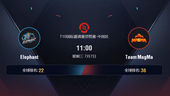 Ti10中国区预选赛前瞻:Elephant能否拿下首胜?