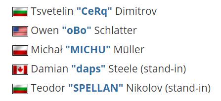 【蜗牛电竞】Brehze、Stanislaw缺席 EG残阵参加BLAST