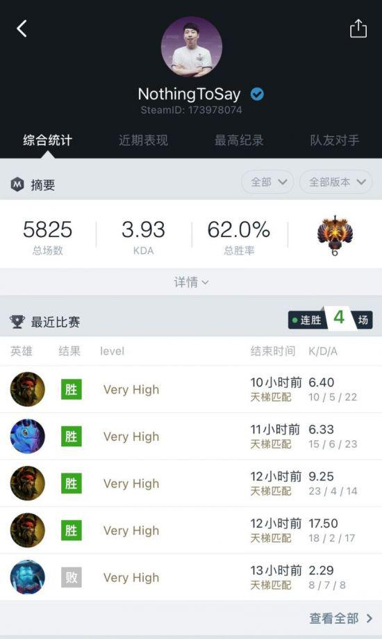 【蜗牛电竞】莫言成为国内首位天梯突破11000的选手