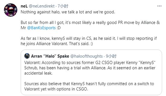【博狗扑克】从爆料到澄清 kennyS的转型Valorant疑云