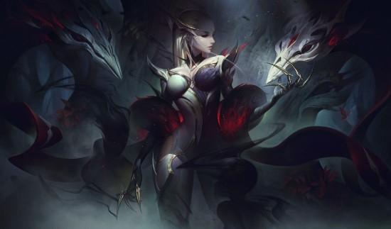 """【博狗扑克】《英雄联盟》新""""魔女""""系列皮肤 谁能拒绝神秘的漂亮姐姐?"""