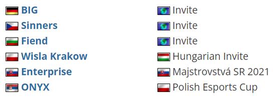 【蜗牛电竞】匈牙利线下赛 BIG确认参加V4未来电竞节