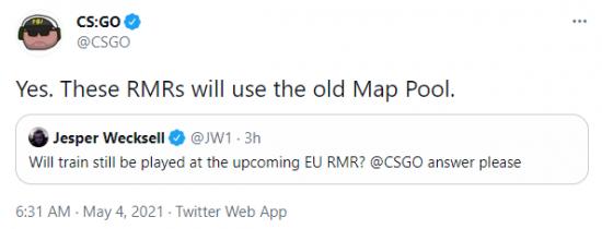 【蜗牛电竞】CSGO更新日志:Ancient替换Train为现役地图