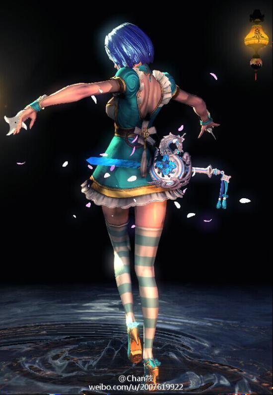 剑灵武器幻化s2_《剑灵》韩服客户端新增激光武器模型