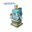 鯡魚王雕像