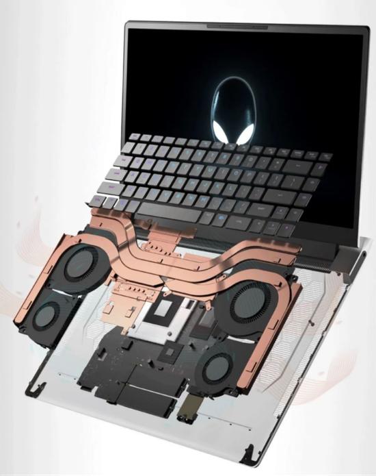 【博狗扑克】全新散热架构 五大技术升级 外星人x15/x17热血冰心
