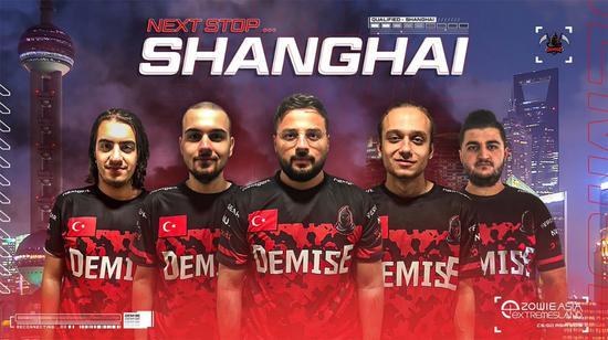 土耳其戰隊Demise榮膺中東賽區冠軍,前進上海