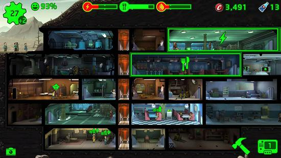 《輻射 避難所》游戲畫面