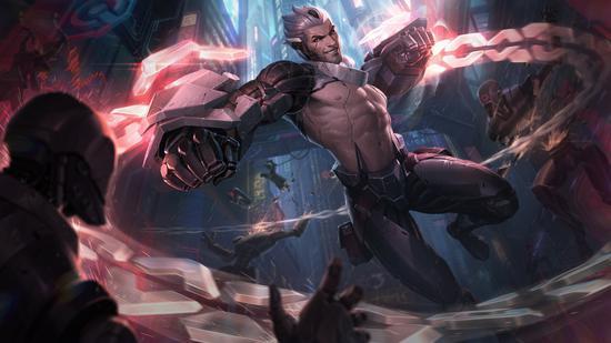 【蜗牛电竞】《英雄联盟》源计划2021系列皮肤 铁男莫德凯撒开大带你走进夜之城!
