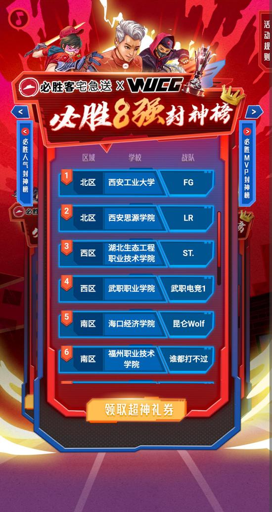 必胜客宅急送×WUCG必胜封神赛8强揭晓!快来pick你心中的最强战队