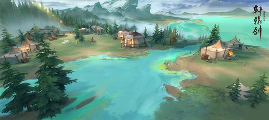 游戏场景:天山