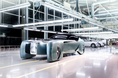 劳斯莱斯汽车回溯品牌电动化历史渊源