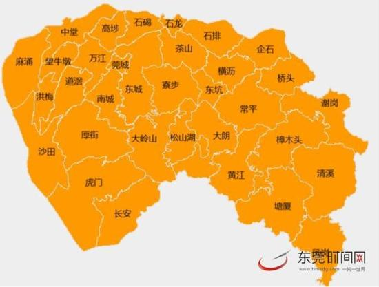 东莞地图全图可放大