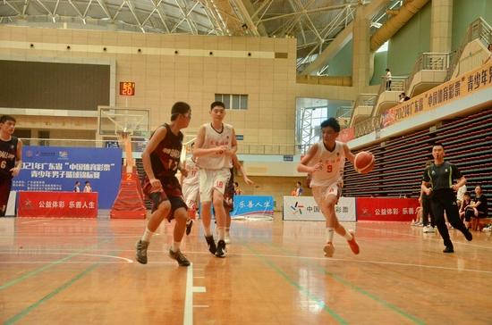 """2021年广东省""""中国体育彩票""""青少年男子篮球锦标赛圆满收官"""
