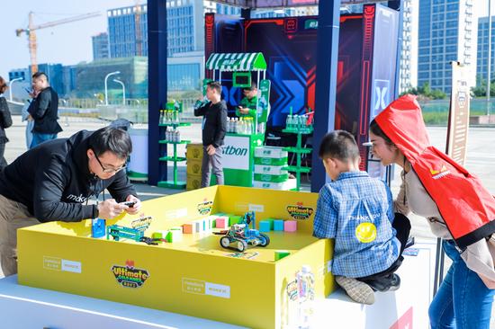 2019 童心制物MakeX机器人挑战赛总决赛嘉年华现场展示区