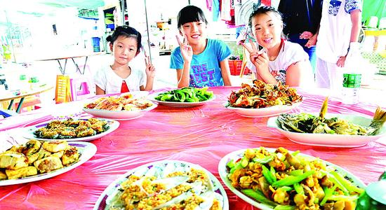 大亚湾美食颇受游客欢迎