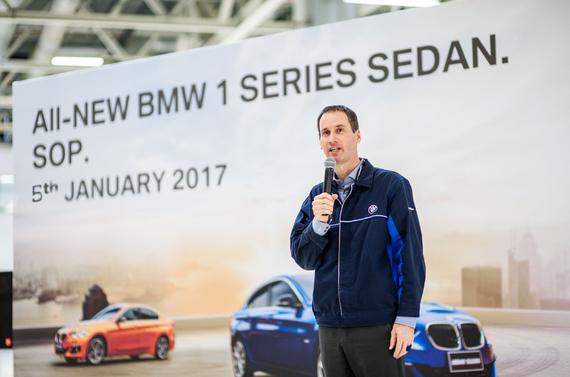 全新BMW 1系运动轿车正式下线