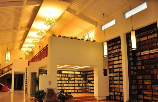 北京杂书馆内景