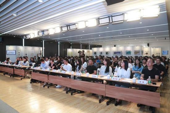 缘梦行动书画作品公益拍卖在京举行