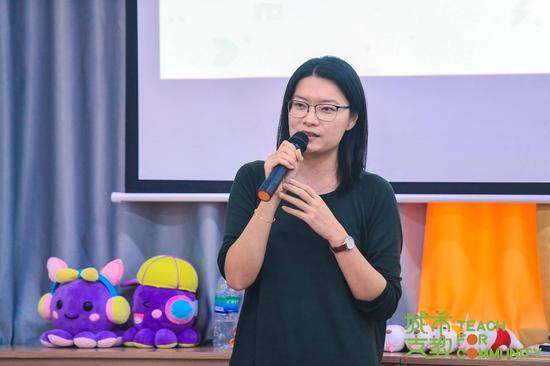 千禾社区基金会秘书长李妙婷女士