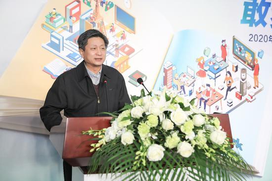 北京理工大学学生事务中心主任郝洪涛对一汽丰田筑梦行动表达感谢