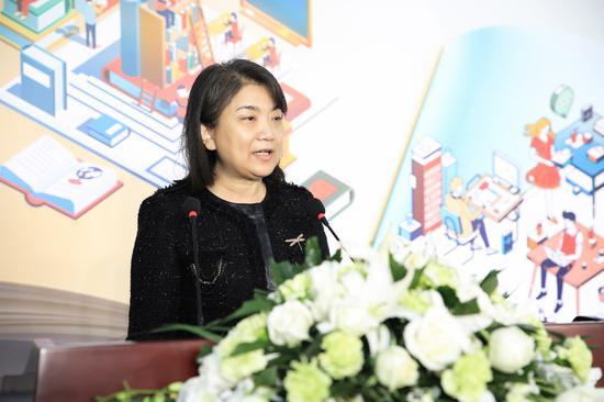 中国青基会教育文化事业部部长迟耀萍对筑梦活动给予高度评价