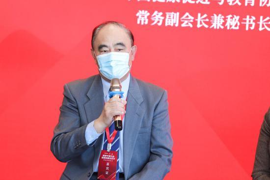 中国健康促进与教育协会常务副会长兼秘书长黄泽民