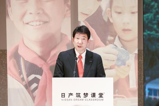 日产(中国)投资有限公司执行副总经理铃木昭寿(Akihisa Suzuki)先生致辞