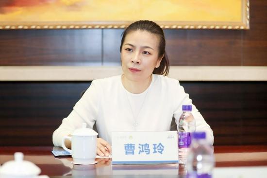 融创服务集团执行董事兼行政总裁曹鸿玲讲话