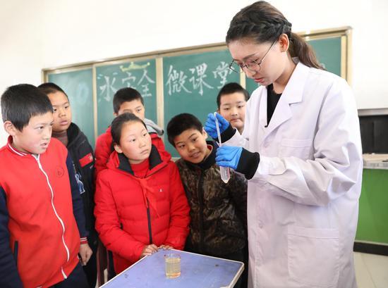 """平台联合""""果壳网""""为阁楼小学孩子们打造水主题环保微课堂"""