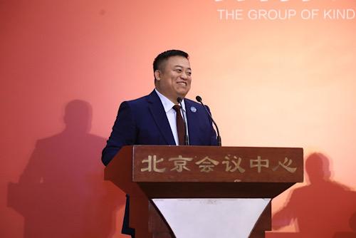 """""""团爸团妈计划""""项目发起人、中国华侨公益基金会副会长、善行团公益基金创始人钢子"""