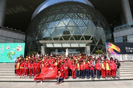 参观上海科技馆