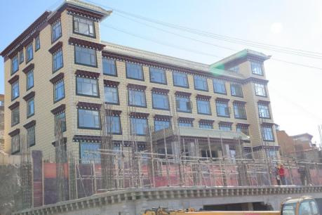 甘孜寺卫生医疗康复中心主体全貌