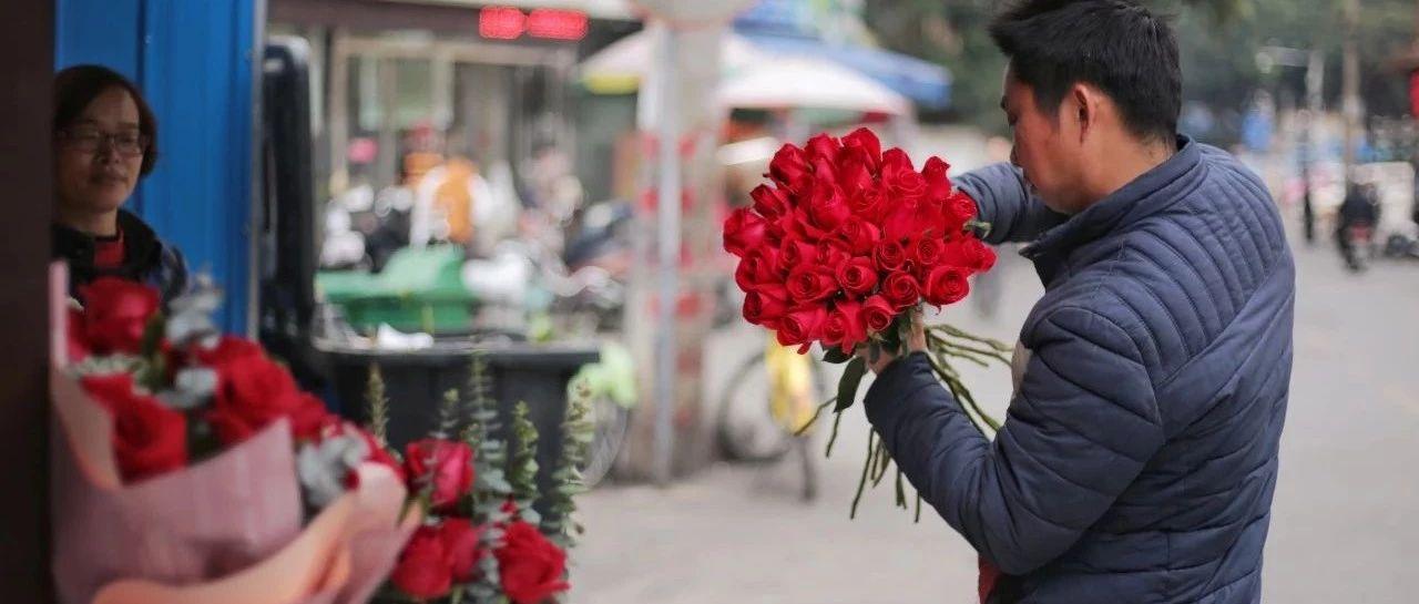 情人节到了 南宁这条小巷充满了浪漫的味道