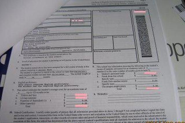 留美生寒假回国留意:拿I-20表格找招生官签名