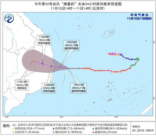 海南变更台风三级预警为台风四级预警,明日最低19℃(三)