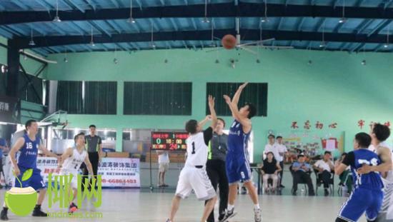 首届高校海南校友会篮球联赛落幕 郑州大学队夺冠