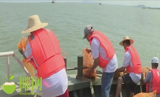 東方:開展增殖放流生態修復 保