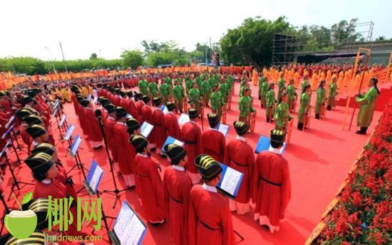 迎中秋祭月礼!海南首届文笔峰祭月大典将于13日晚举行